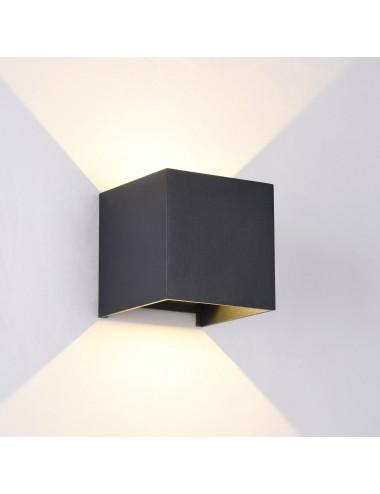 Fasādes lampa ''Fulton'' melna