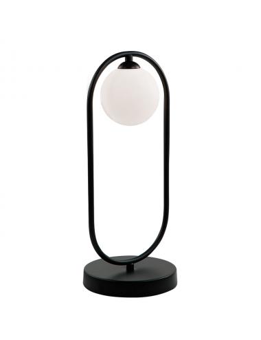 Galda lampa Fancy melna