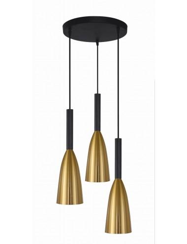 Piekaramā lampa Solin zelta