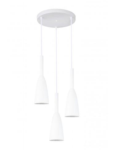 Piekaramā lampa Solin balta