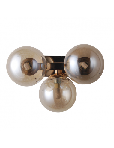 Sienas lampa Marbelio zelta