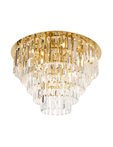 Griestu lampa Monaco zelta