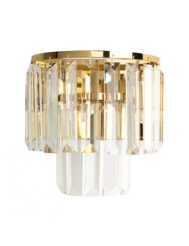 Sienas lampa Monaco zelta