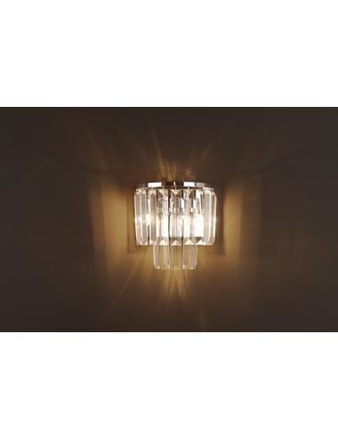 Sienas lampa Monaco hroms