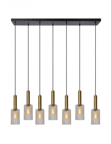 Piekaramā lampa Coralie zelta