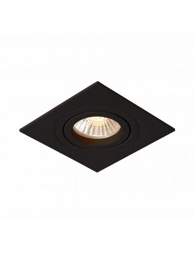 Iebūvējamā lampa Metis melna