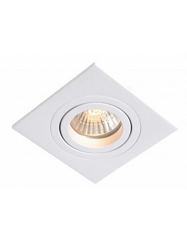 Iebūvējamā lampa Metis balta