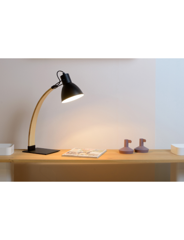 Galda lampa Curf melna