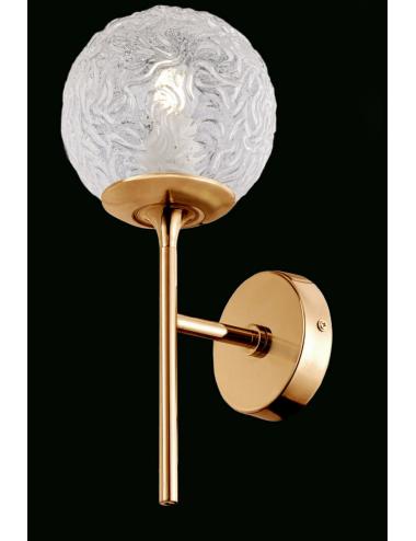 Sienas lampa Ligero misiņš