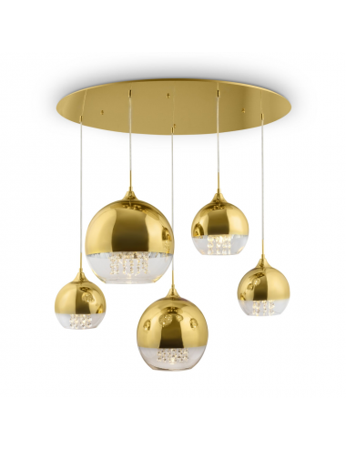 Piekaramā lampa Fermi zelta