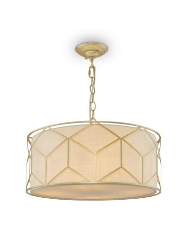Piekaramā lampa Messina zelta
