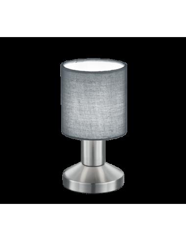 Galda lampa Garda pelēka