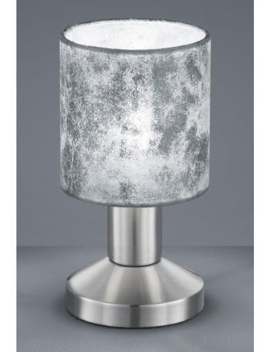 Galda lampa Garda sudraba