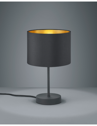 Galda lampa Hostel melna