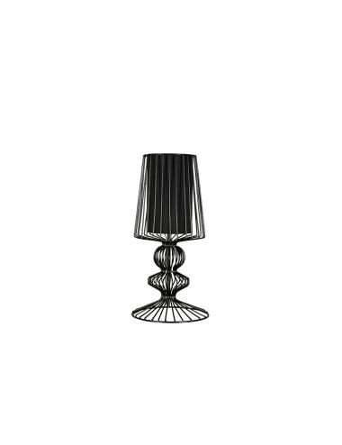 Galda lampa Aveiro melna