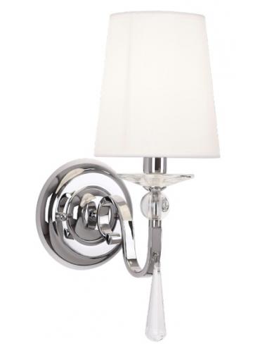 Sienas lampa Charlotte hroms