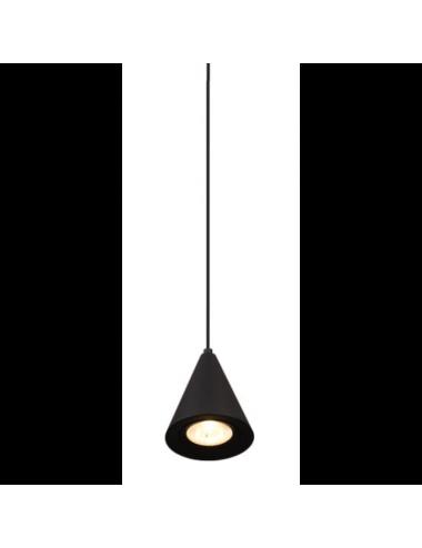 Piekaramā lampa Comet melna