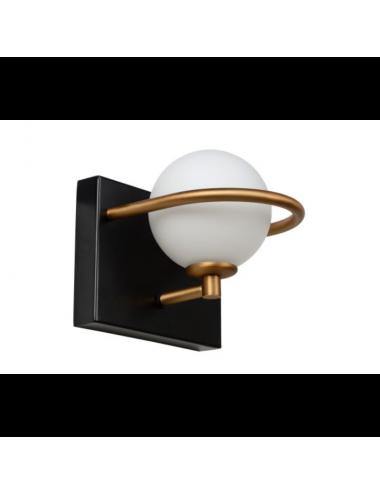 Sienas lampa Isobel melna
