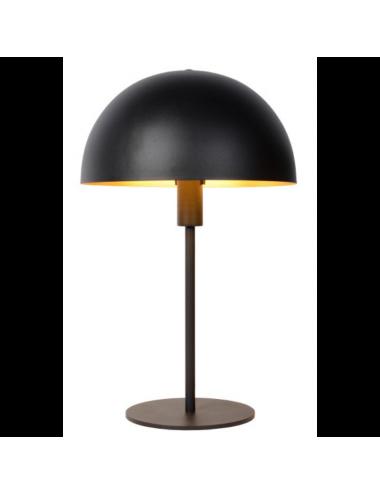 Galda lampa Siemon melna