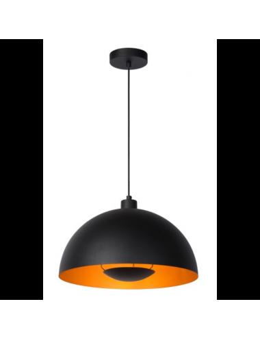 Piekaramā lampa Siemon melna