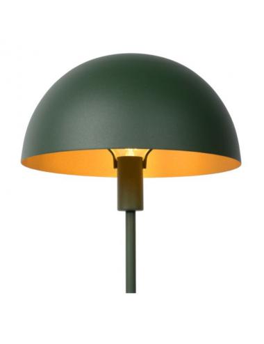 Galda lampa Siemon zaļa