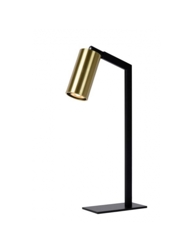 Galda lampa Sybil melna