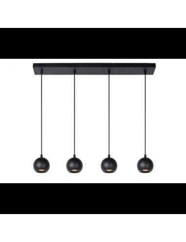 Piekaramā lampa Favori melna