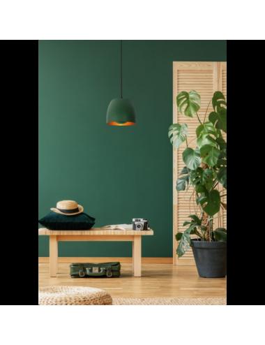 Piekaramā lampa Nolan zaļa