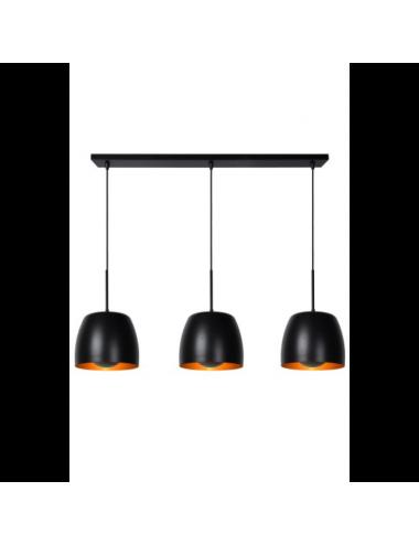 Piekaramā lampa Nolan melna