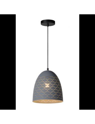 Piekaramā lampa Galla pelēka