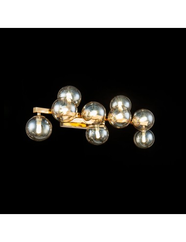 Sienas lampa ''Dallas'' zelta