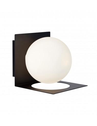 Sienas lampa ''Zenit'' melna
