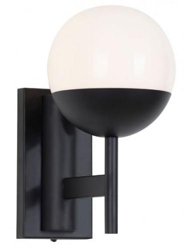 Sienas lampa ''Dallas'' melna