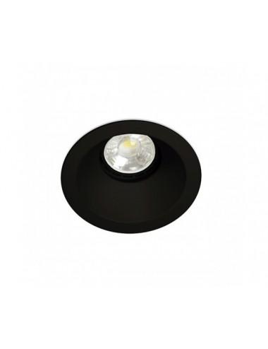 Iebūvējamā lampa ''Dip'' melna