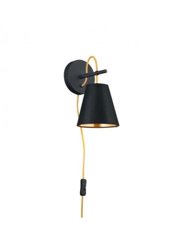 Sienas lampa ''Andreus'' melna