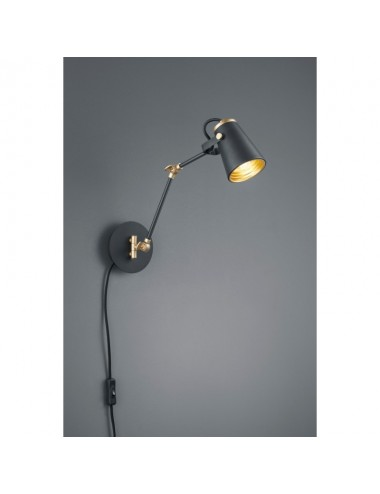 Sienas lampa ''Edward'' melna