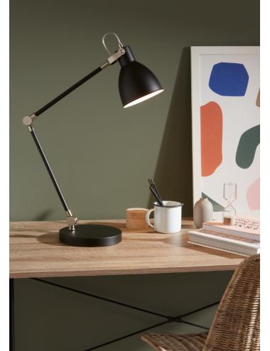 Galda lampa ''House'' melna
