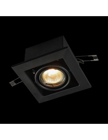 Iebūvējamā lampa Metal melna