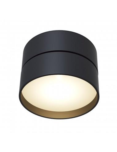 Griestu lampa ''Onda'' melna