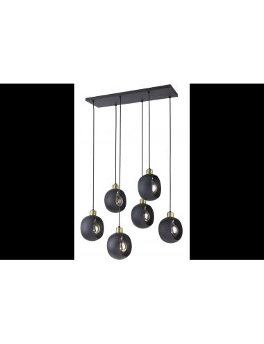 Piekaramā lampa Cyklop melna