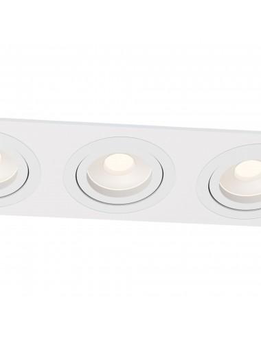 Iebūvējamā lampa Atom balta