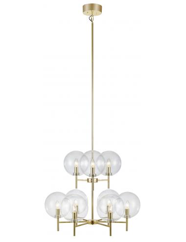 Piekaramā lampa Crown misiņš