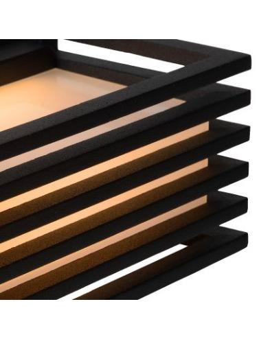 Fasādes lampa ''Malta'' melna