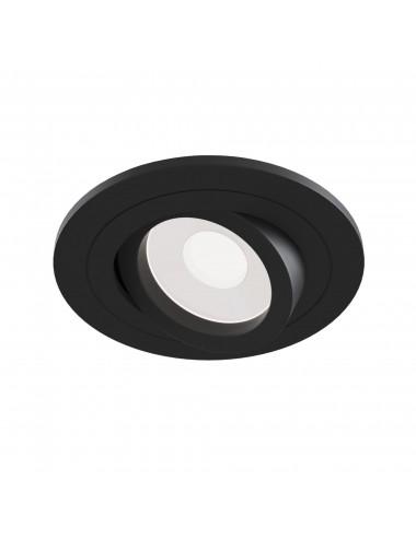 Iebūvējamā lampa Atom melna
