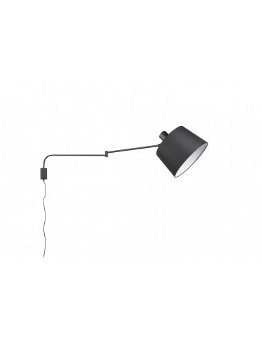 Sienas lampa ''Baldo'' melna