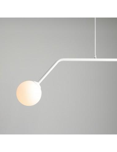 Piekaramā lampa Pure balta
