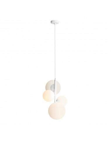 Piekaramā lampa Bloom balta