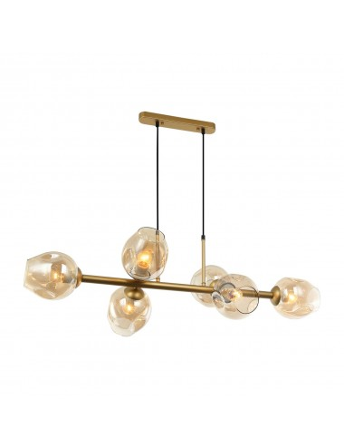 Piekaramā lampa Borgo zelta