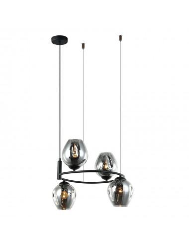 Piekaramā lampa Roxane melna