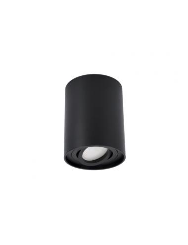 Griestu lampa Dlo ortal melna